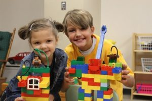 Children at Sunday School
